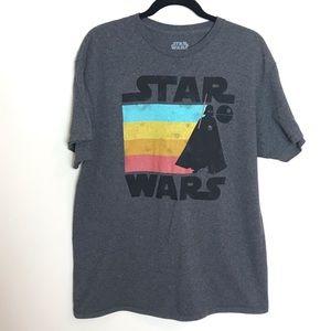 2/$20 Star Wars Darth Vader Death Star Graphic Tee